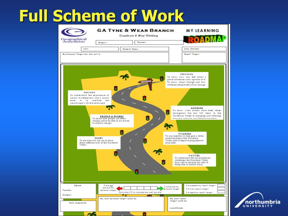 Full Scheme of Work