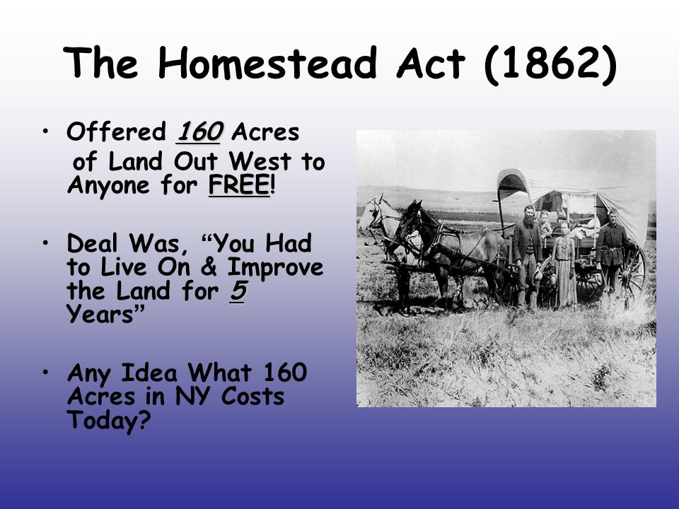 Growth in the west chapter 19 section 4 ppt video for Kansas homestead act