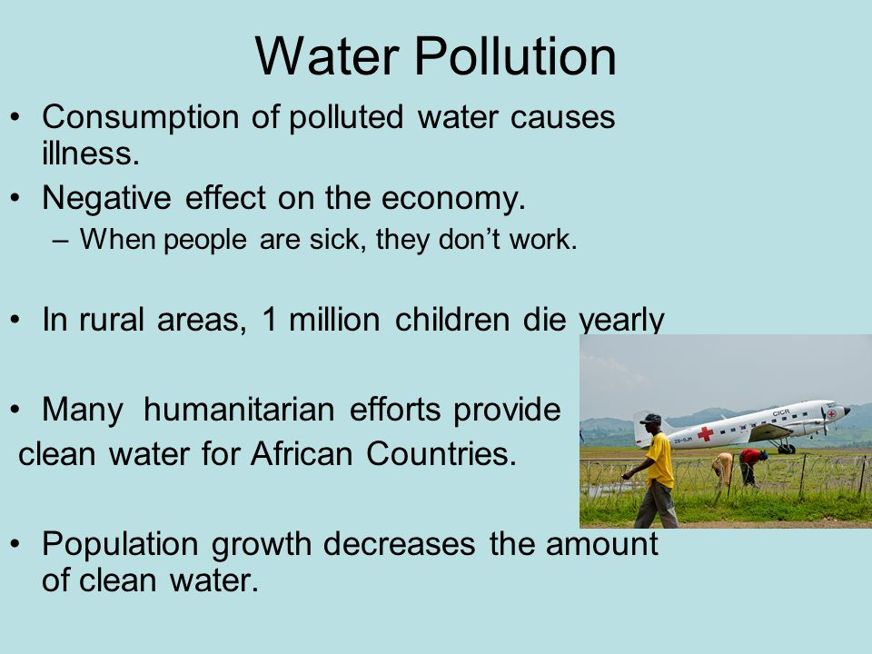 the importance of the issue of water pollution Water pollution control issue statement the contamination of public water  to know some idea on how to handle air pollution and the importance of protecting.
