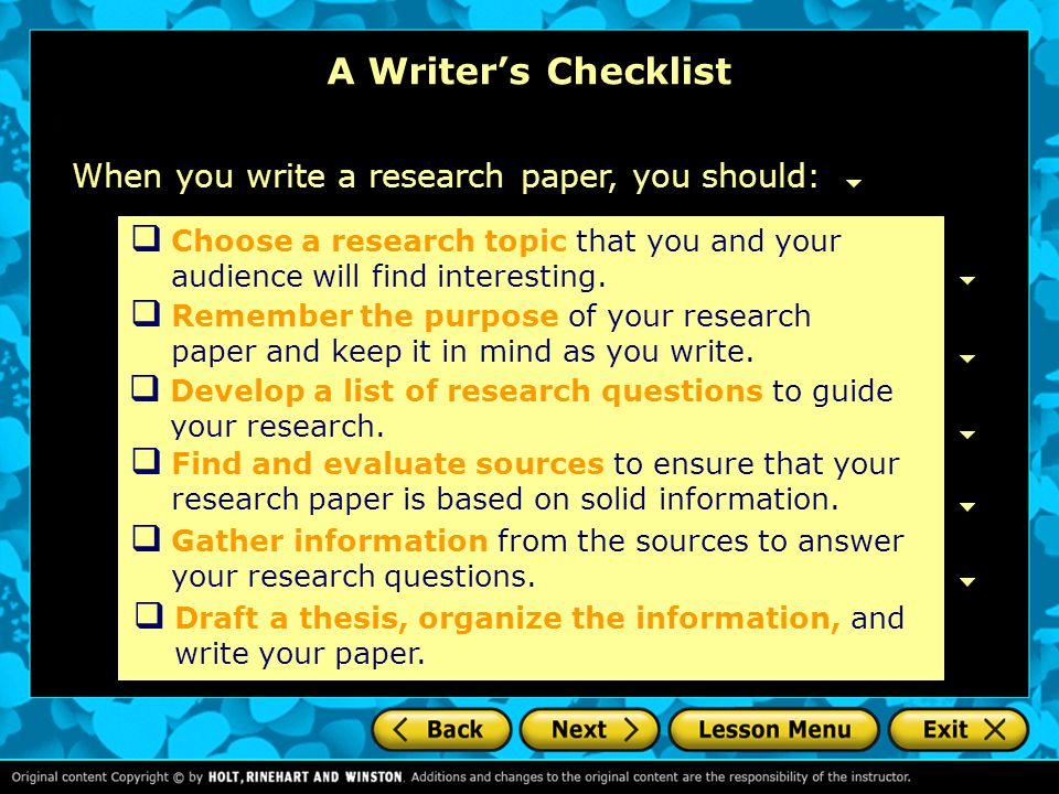 what should be in an introduction of a research paper You should introduce your specific topic and provide any necessary  longer  argument or research papers may require a more substantial introduction the  first.