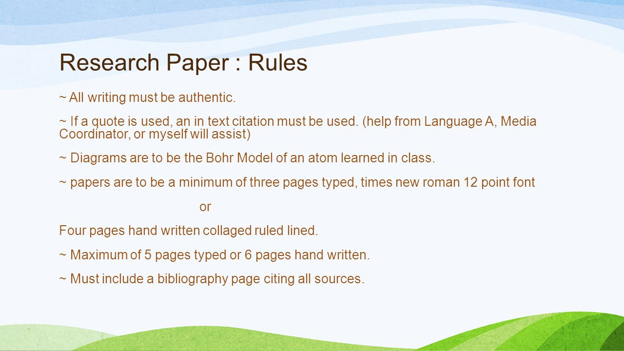 rules for quoting in a research paper Search and cite automatically with easybib 1 choose source type website  from apa, to keep in mind while formulating your research paper  title rules .