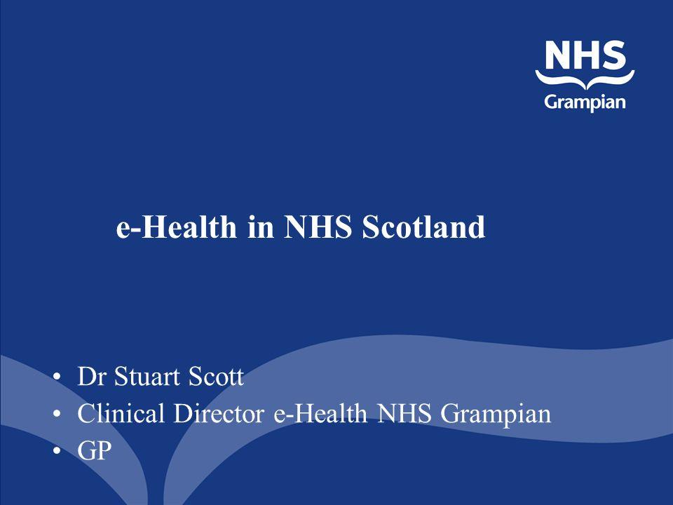 e-Health in NHS Scotland