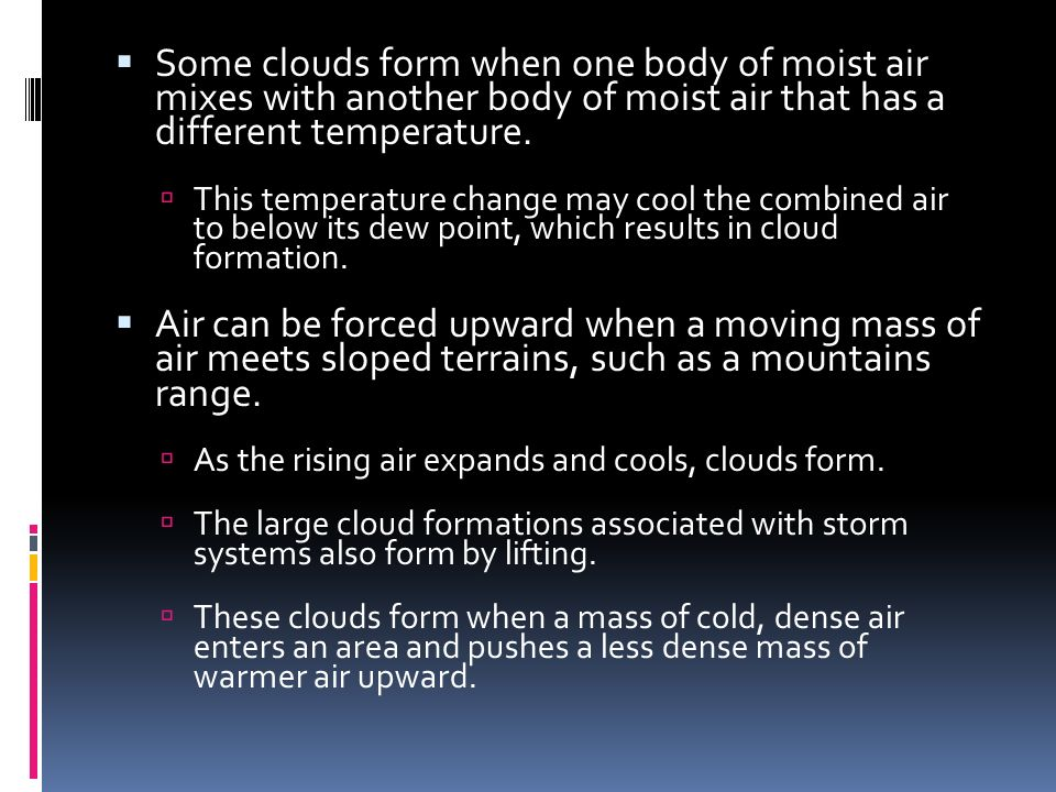 Water in the Atmosphere - ppt download