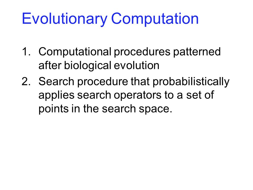 Biological Evolution Lamarck and others Darwin and Wallace