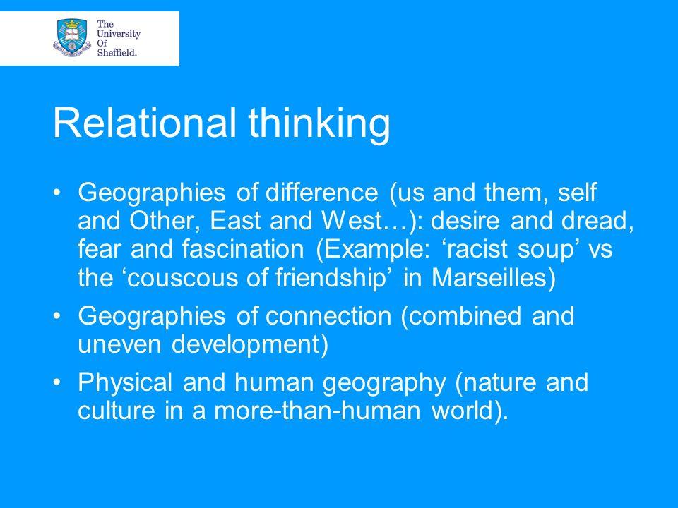 Relational thinking