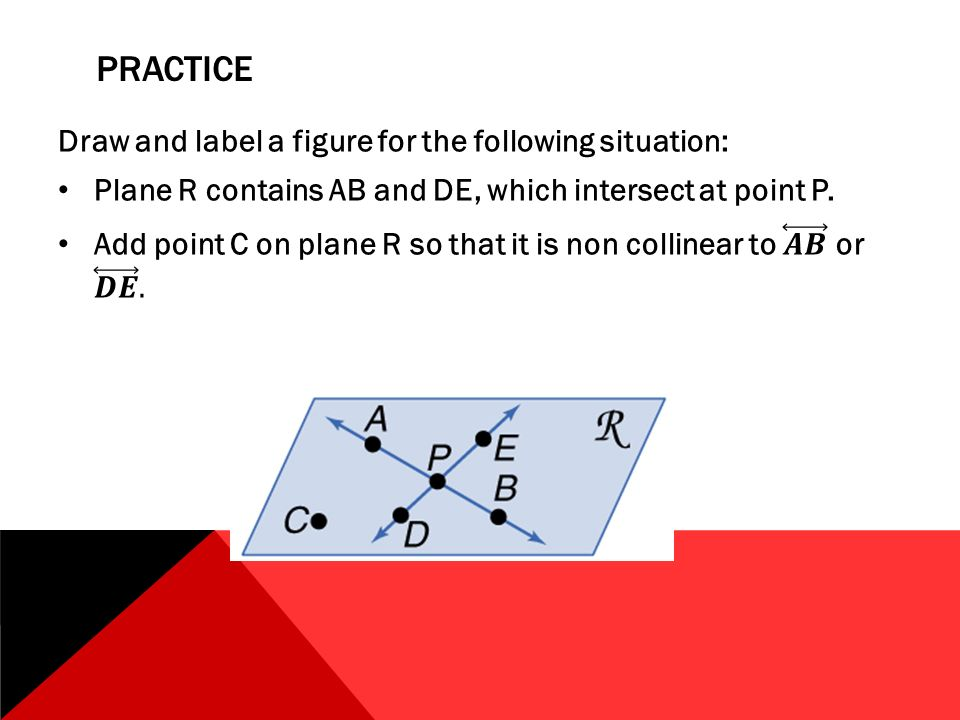 Dda Line Drawing Algorithm Using Java : Lesson points lines planes ppt video online