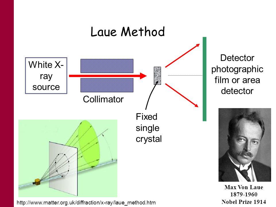 Detector photographic film or area detector