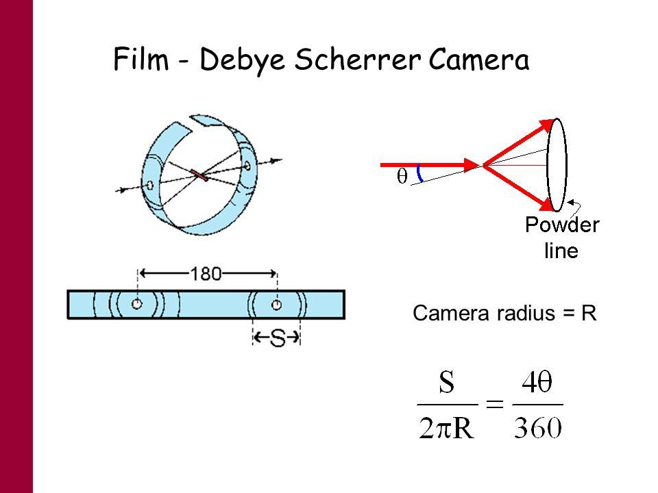 Film - Debye Scherrer Camera