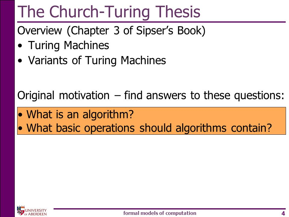 The Church-Turing Thesis