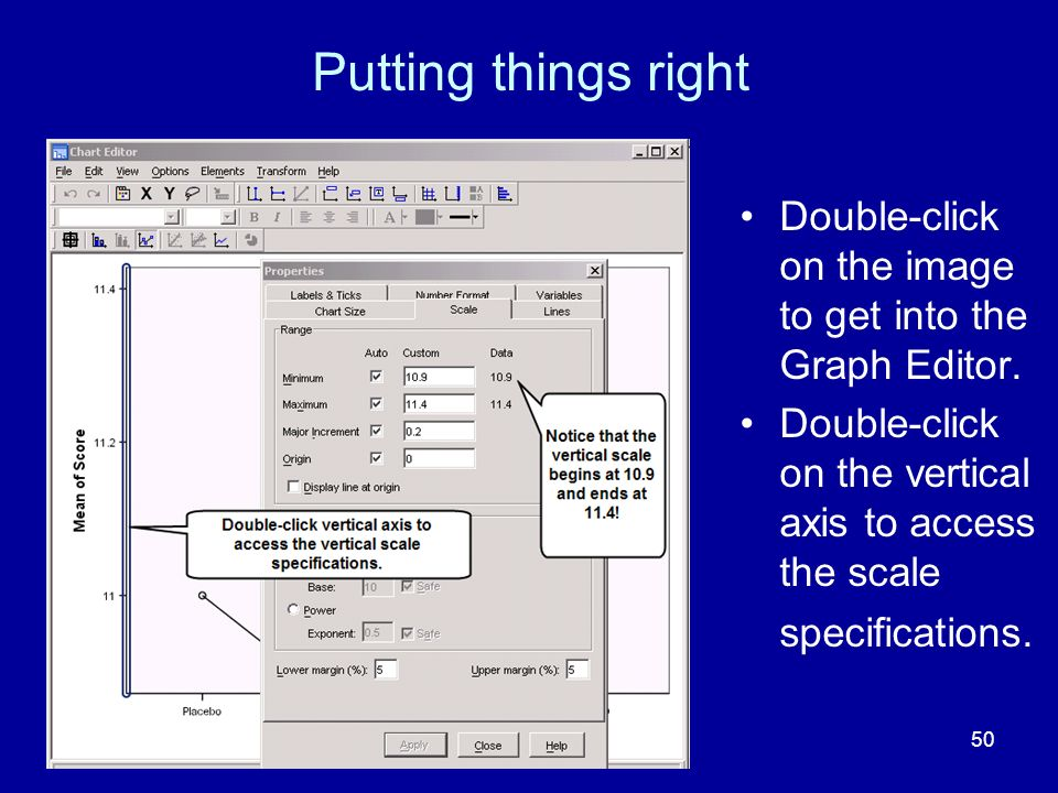 Putting things right Double-click on the image to get into the Graph Editor.