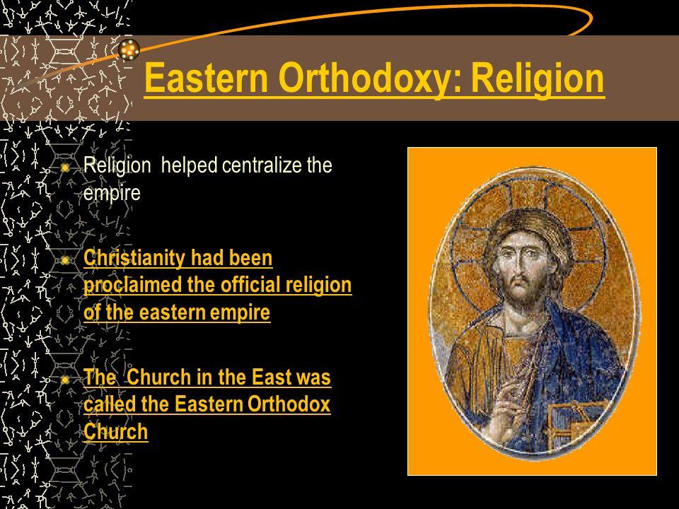 Eastern Orthodoxy: Religion