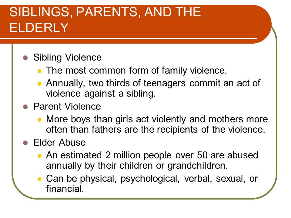 Intimate Violence and Sexual Abuse - ppt download