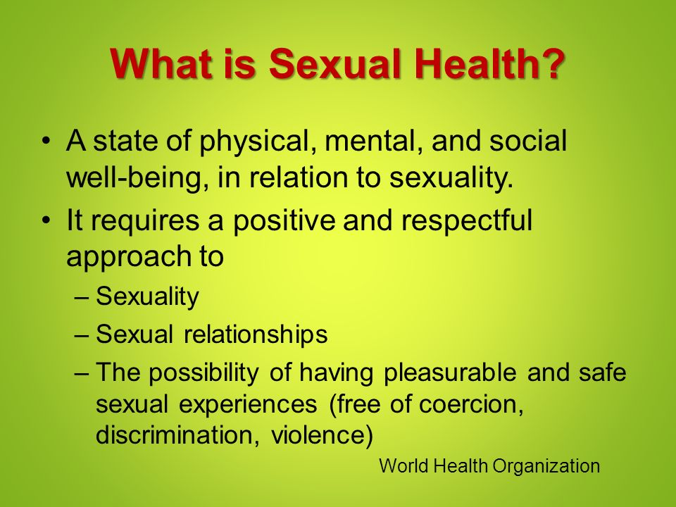 gender and health relationship