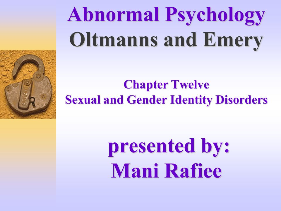 psychology gender identity and colapinto Home of the celebrated gender identity expert and psychologist as colapinto noted, money gender identity david reimer pediatrics psychology nature versus.