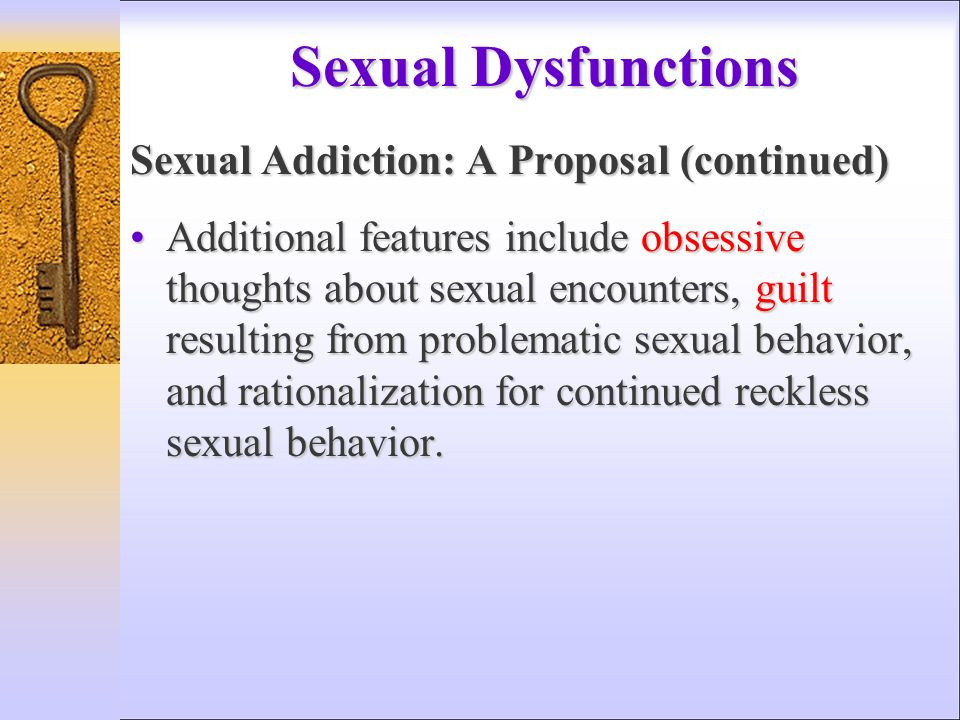 Sex Addiction Not An Official Disorder, DSM Says HuffPost