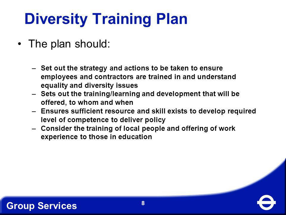 Diversity Training Plan