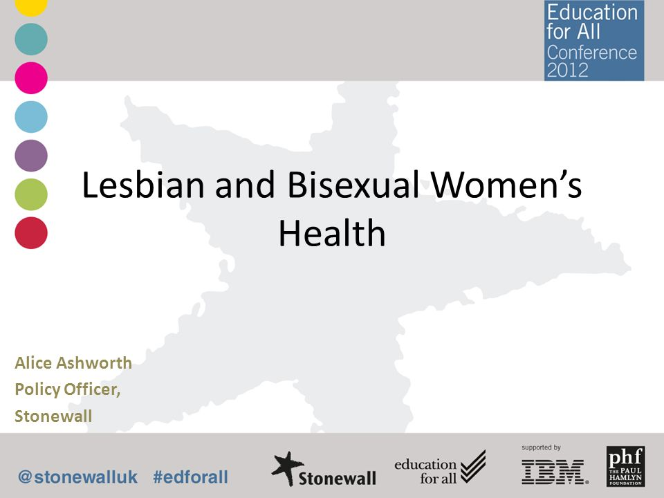 Lesbian and Bisexual Women's Health