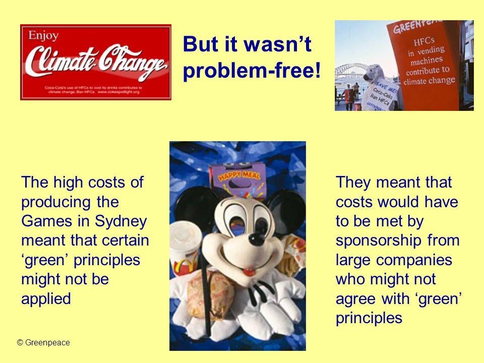 But it wasn't problem-free!