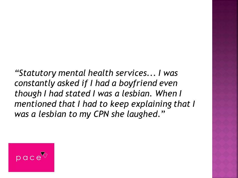 Statutory mental health services