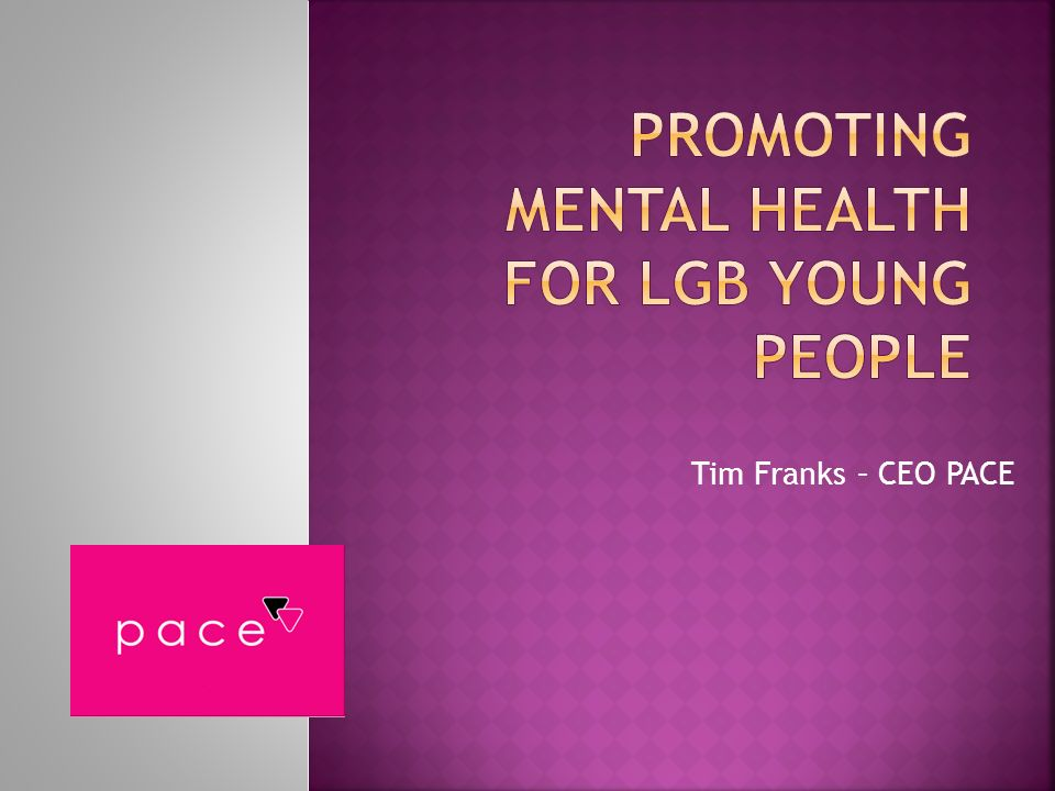 Promoting mental health for LGB young people