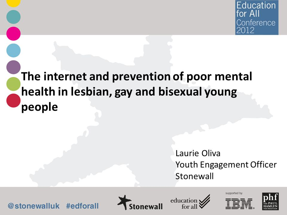 The internet and prevention of poor mental health in lesbian, gay and bisexual young people