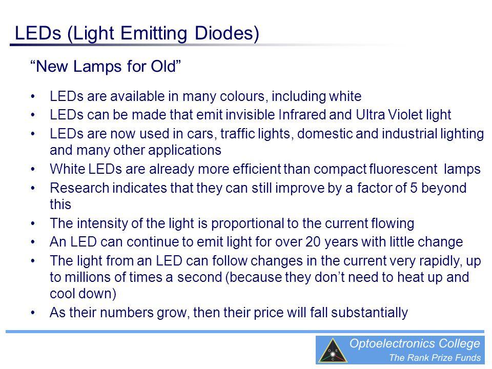 LEDs (Light Emitting Diodes)