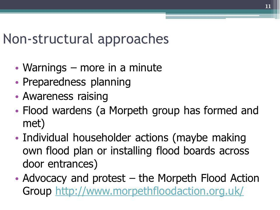 Non-structural approaches