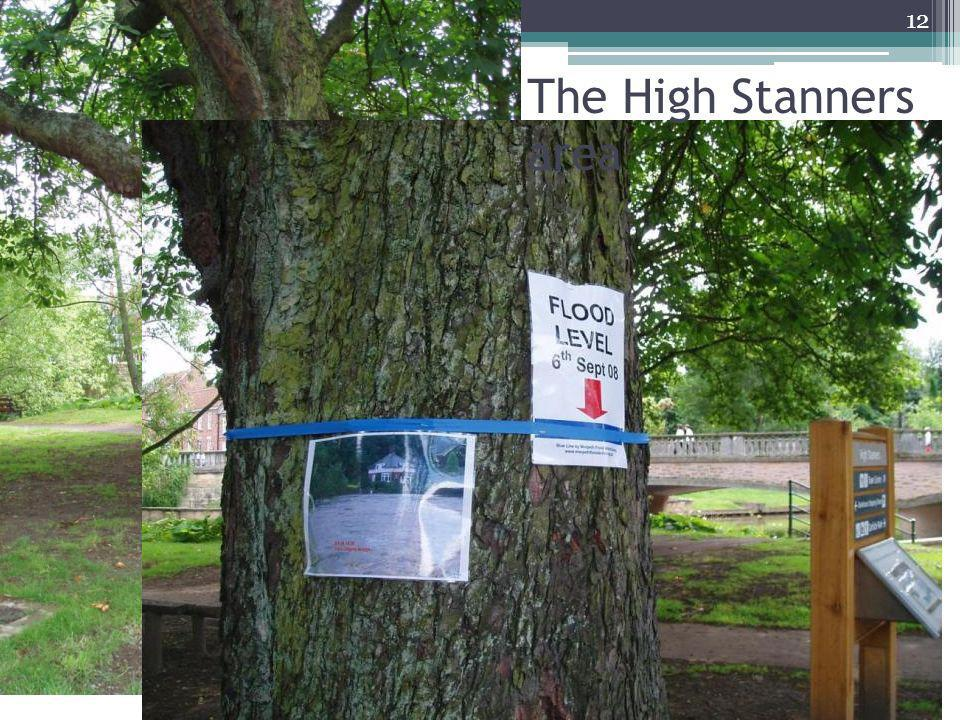 The High Stanners area