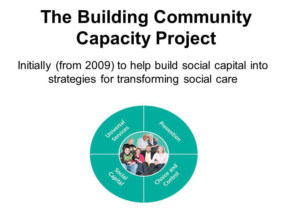 The Building Community Capacity Project