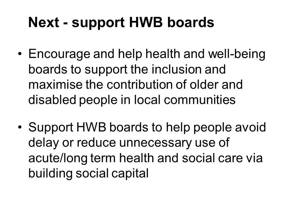 Next - support HWB boards