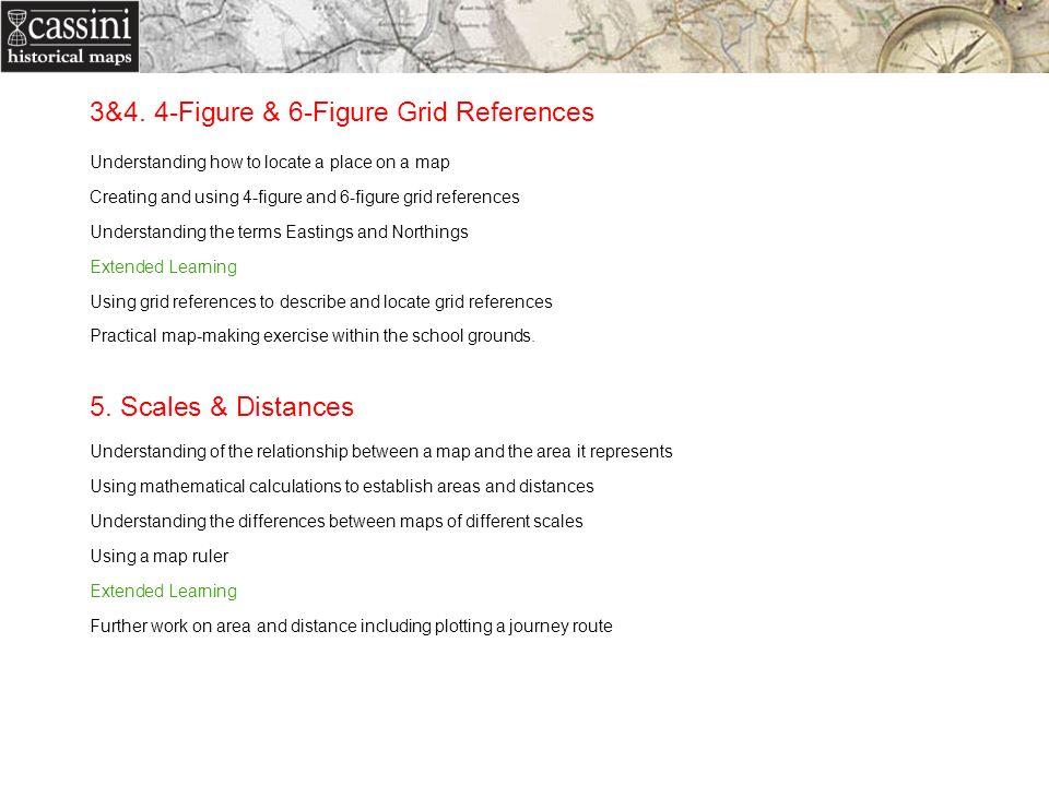3&4. 4-Figure & 6-Figure Grid References