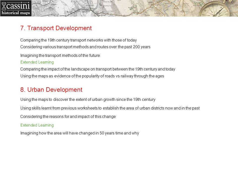 7. Transport Development