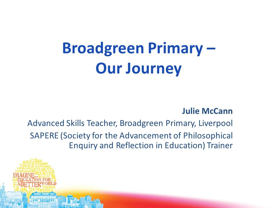 Broadgreen Primary – Our Journey
