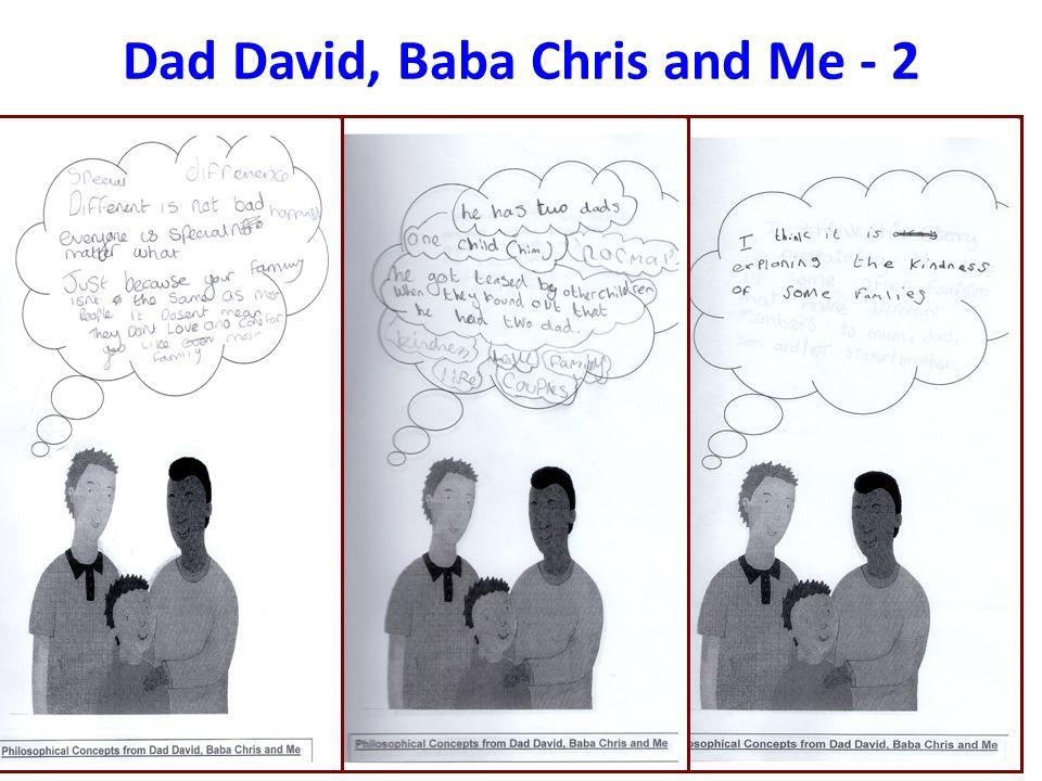 Dad David, Baba Chris and Me - 2