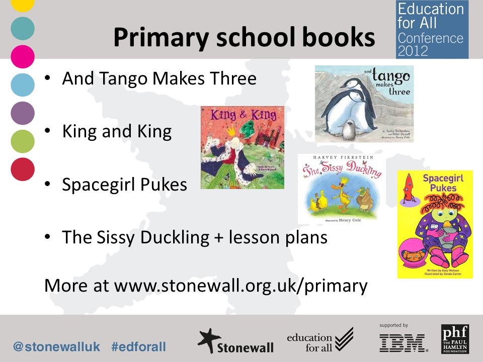 Primary school books And Tango Makes Three King and King