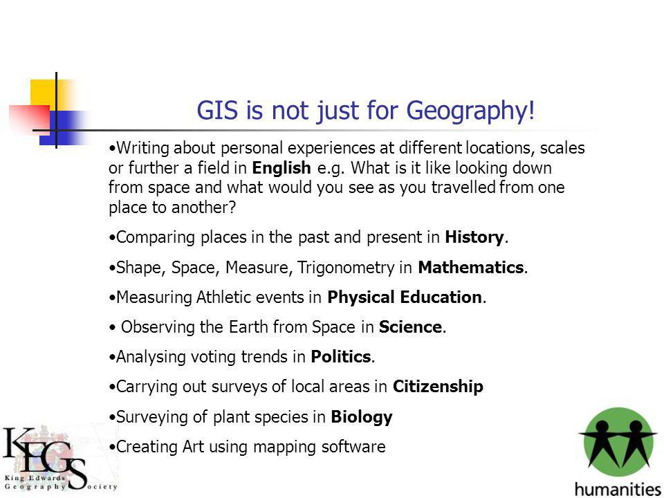 GIS is not just for Geography!