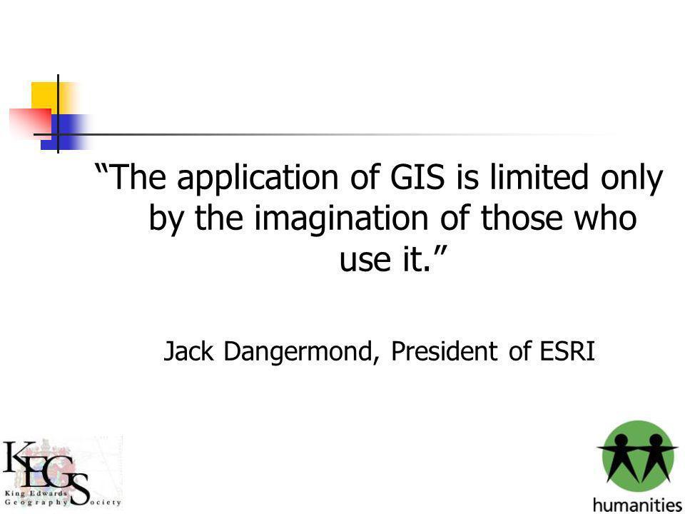 Jack Dangermond, President of ESRI
