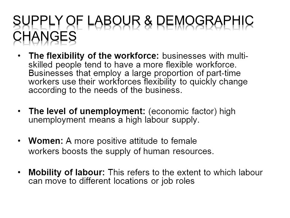 demographic changes and business opportunities economics essay When people move away from villages, jobs, schools, shops and other facilities   the size and demographics of the population change when:  a community with  a higher proportion of older inhabitants may be less attractive to businesses,.