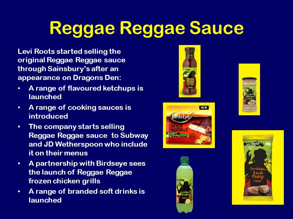 how reggae reggae sauce Reggae reggae sauce is a good  reggae reggae sauce is a good  i had a  taste of reggae reggae sauce tonight, to me it tastes like branston sauce (not.
