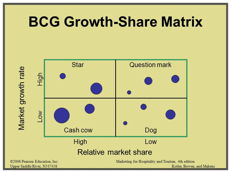 bcg matrix of canon inc