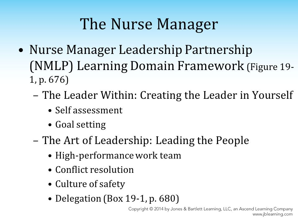 Chapter 19: The Gerontological Nurse As Manager And Leader - Ppt