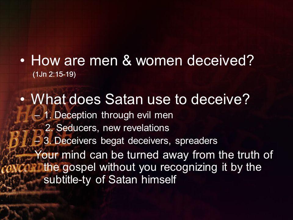 Demons Amp Demonology Bethel Apostolic Church Inc Flint Mi