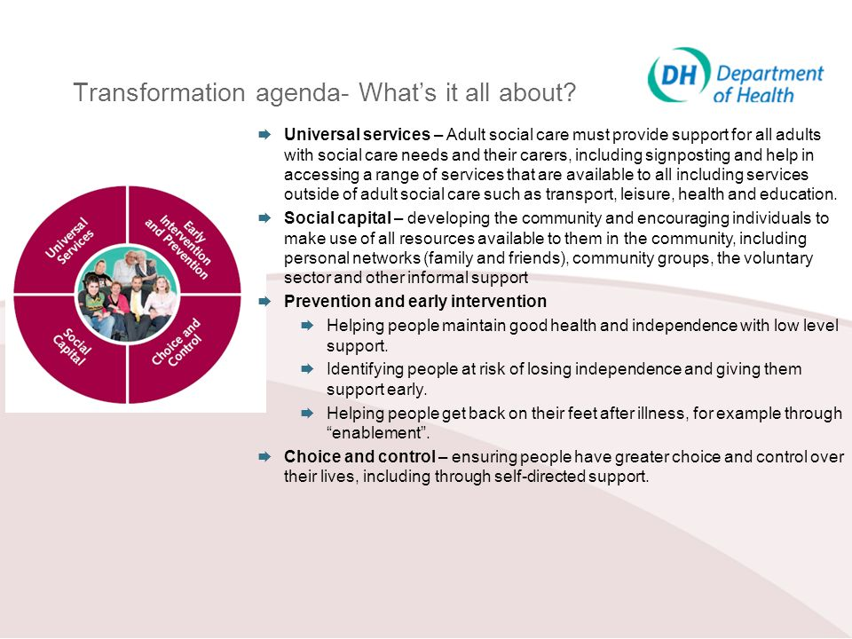Transformation agenda- What's it all about