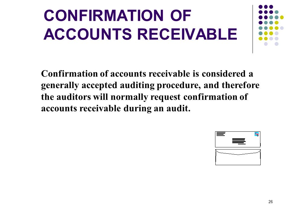 Audit: Accounts Receivable Confirmation [Application Techniques]