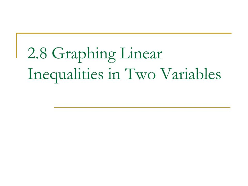 28 Graphing Linear Inequalities in Two Variables ppt video – Graphing Linear Inequalities Worksheet Answers