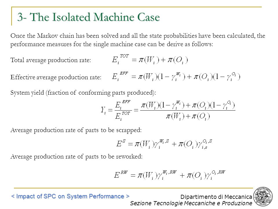 3- The Isolated Machine Case