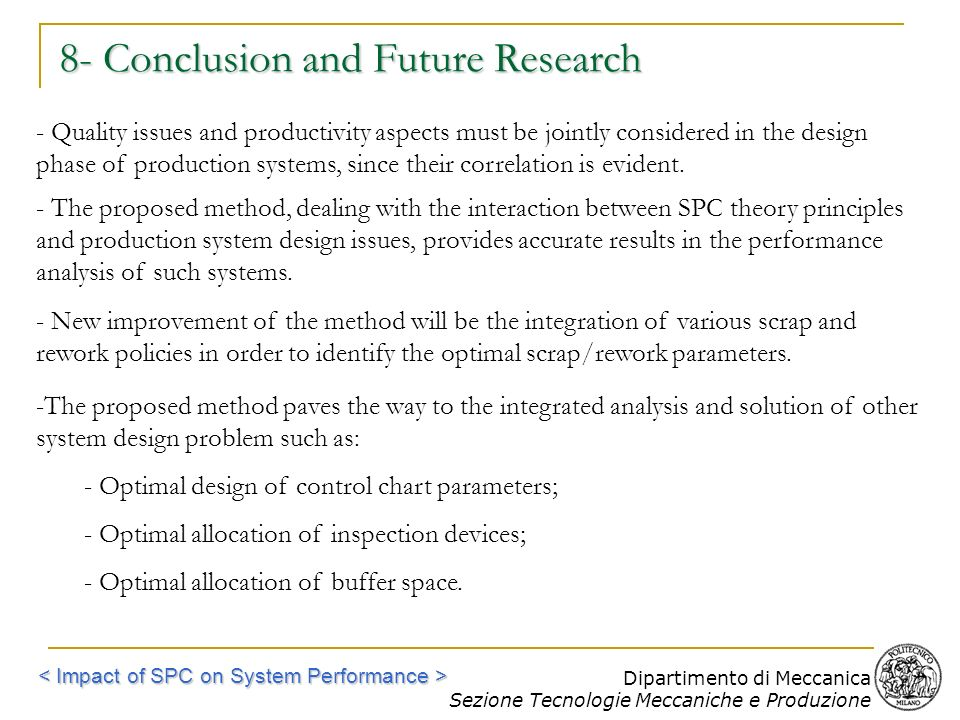 8- Conclusion and Future Research