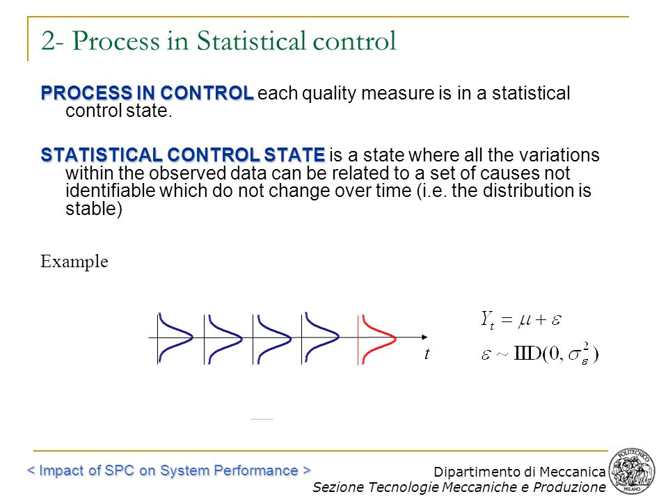 2- Process in Statistical control