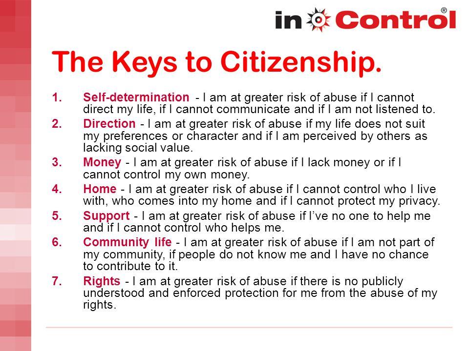 The Keys to Citizenship.