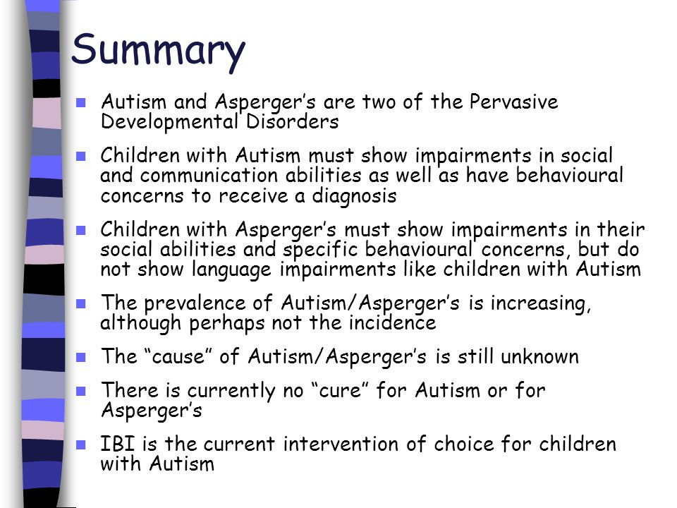 an overview of the mysterious disability of autism This paper explores the figuring of autism as both threat and mystery within   mental retardation and developmental disabilities research review, 10(2),.